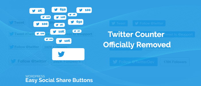 Twitter Share Count 1