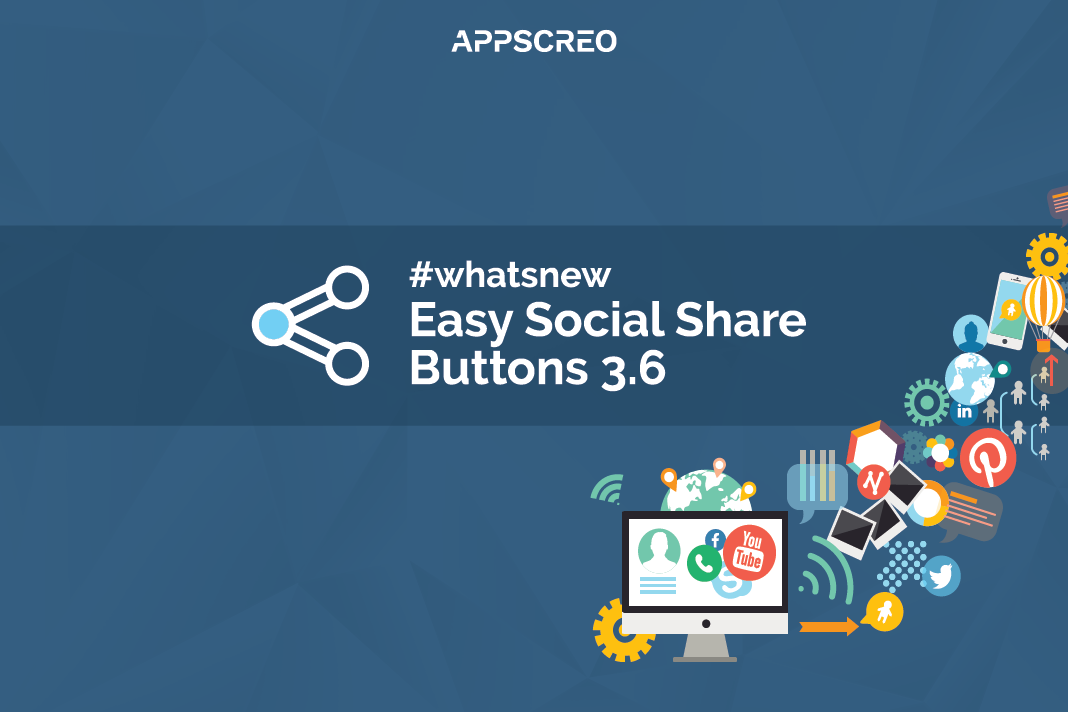 What's new with Easy Social Share Buttons version 3.6 1