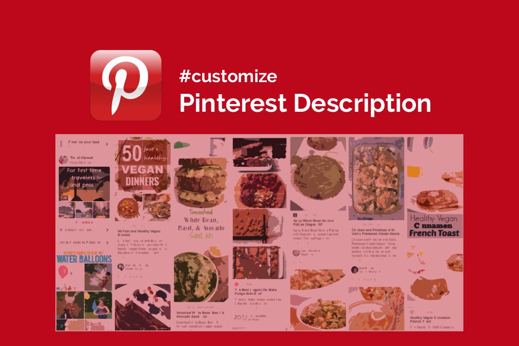How To Set Up Custom Pinterest Description 1