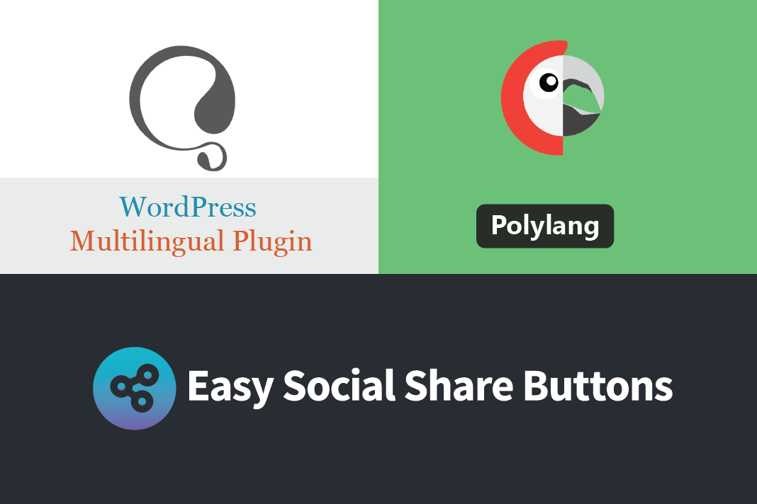 Multilingual Translate Come Up With Easy Social Share Buttons 4.1 1