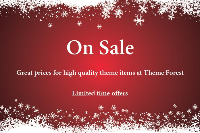 5 Top WordPress Theme Christmas deals at Envato Market for 2016 1
