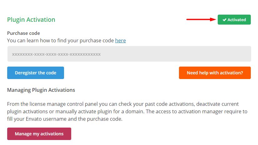 How to Activate, Manage or Deactivate Your License for Easy Social Share Buttons 3