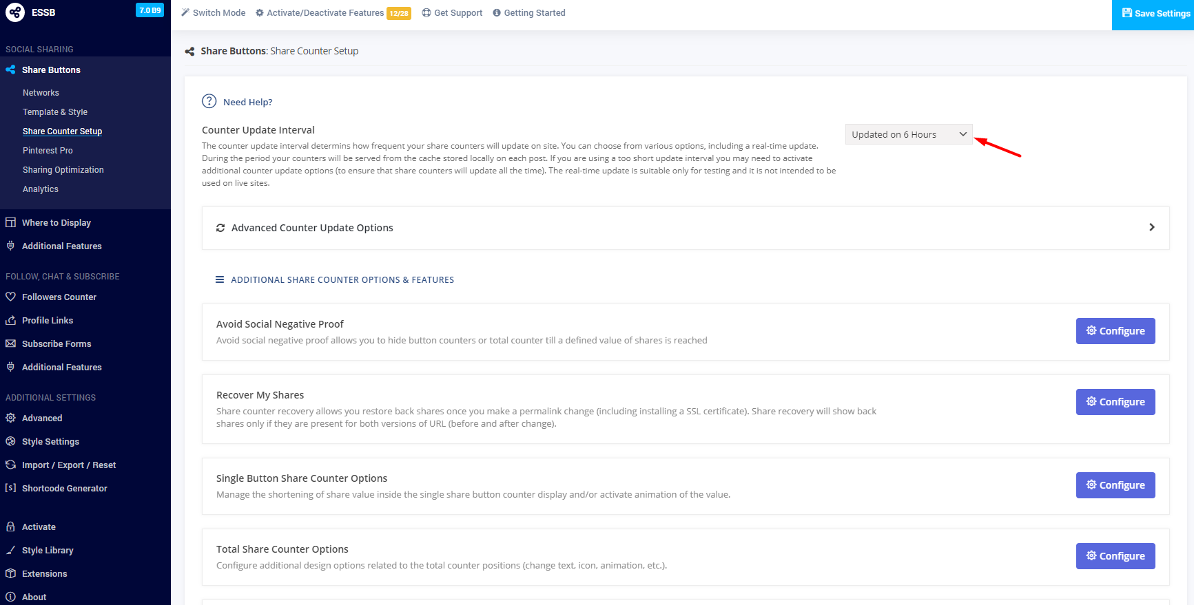 Facebook counter not updating/working: a step-by-step guide to updating settings 12