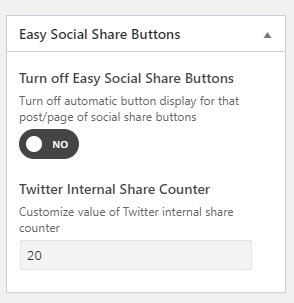 Automatic Display of Share Buttons on Different Post Types, Plugins (and Automatic Deactivate of Display) 5
